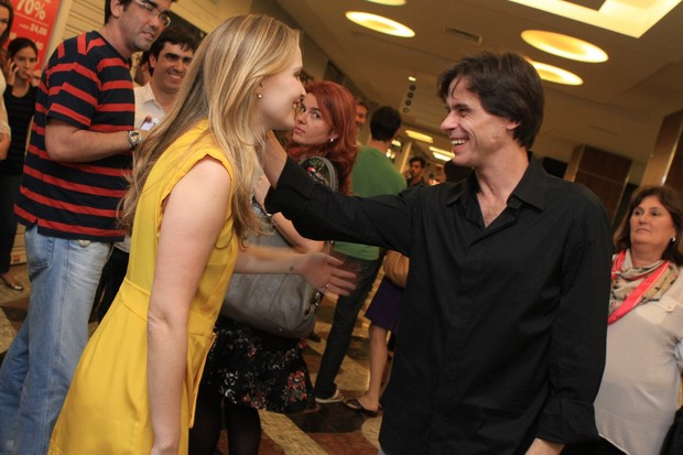Fernanda Rodrigues e Marcos Winter (Foto: Raphael Mesquita/Photorio News)