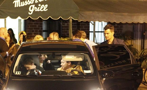 Scarlett Johansson e Nate Naylor  (Foto: Agência/ X17)