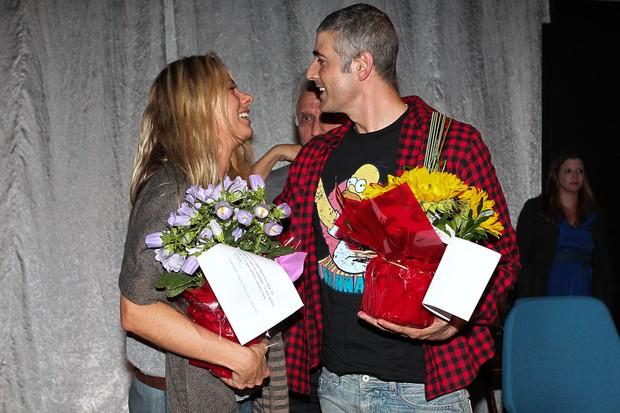 Adriane Galisteu e Reynaldo Reynaldo Gianecchin (Foto: Manuela Scarpa/Photo Rio News   )