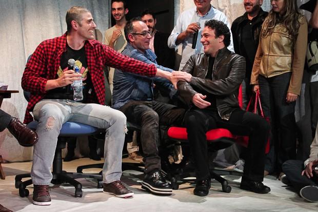 Reynaldo gianecchini e Marcelo Médici (Foto: Manuela Scarpa/Photorio News)