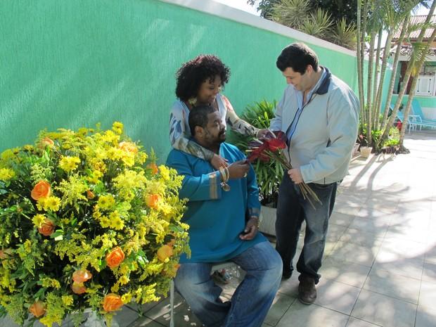 Arlindo Cruz e Babi (Foto: Divulgação)