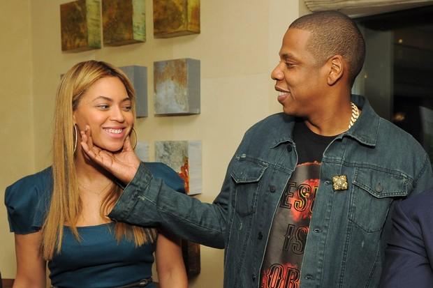 Beyoncé e Jay-Z em lançamento de livro em Nova York, nos Estados Unidos (Foto: Getty Images/ Agência)