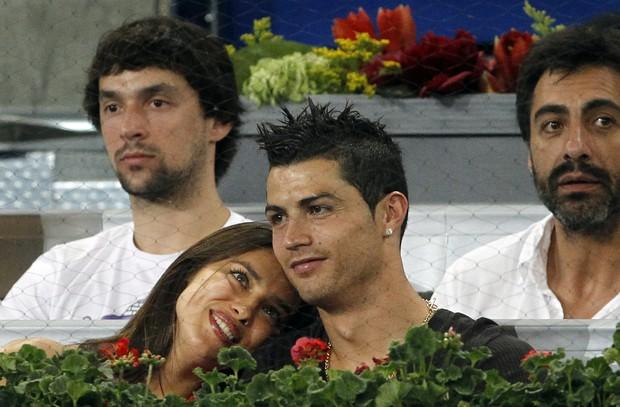 Irina Shayk e Cristiano Ronaldo (Foto: Agência/ Reuters)