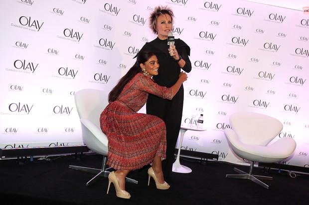 Juliana Paes e Ana Maria Braga (Foto: Manuela Scarpa / Photo Rio News)
