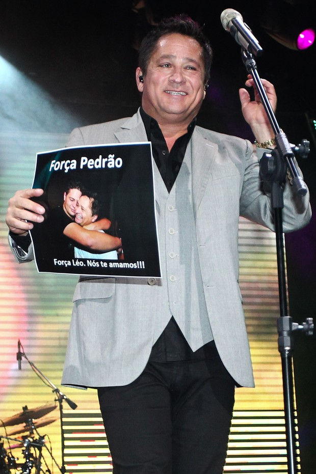 Leonardo homenageou o filho Pedro (Foto: Manuela Scarpa/Photorionews)