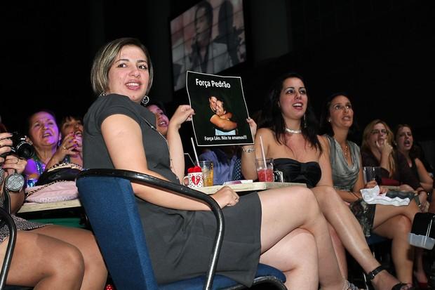 Público também homenageou Pedro (Foto: Manuela Scarpa/Photorionews)