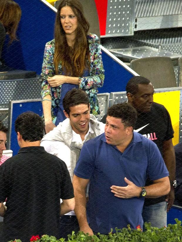 Ronaldo  e Kaká (Foto: Grosby Group)