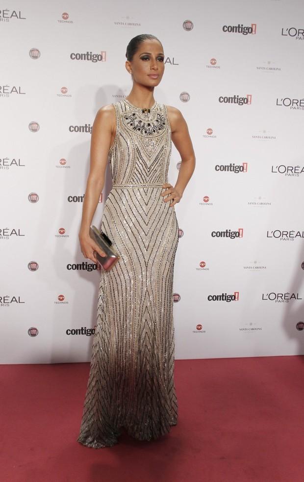 Camila Pitanga no Prêmio Contigo (Foto: Isac luz / EGO)