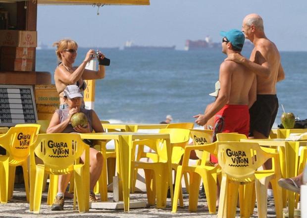 Marcos Caruso no Rio (Foto: André freitas/Agnews)