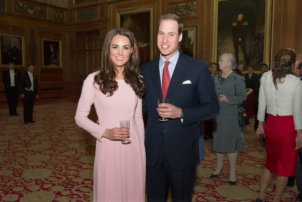 Príncipe William e Kate Middleton (Foto: AFP/ Agência)