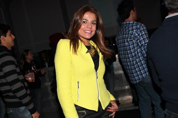 Nívea Stelmann no show de Ivete e Thiaguinho em SP (Foto: Manuela Scarpa/PhotoRioNews)