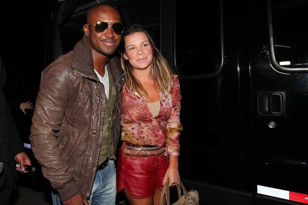 Fernanda Souza e Thiaguinho (Foto: Manuela Scarpa/PhotoRioNews)