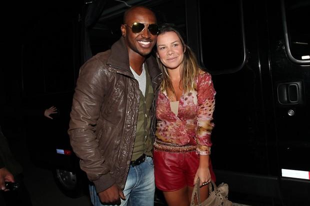 Thiaguinho e Fernanda Souza (Foto: Manuela Scarpa/PhotoRioNews)