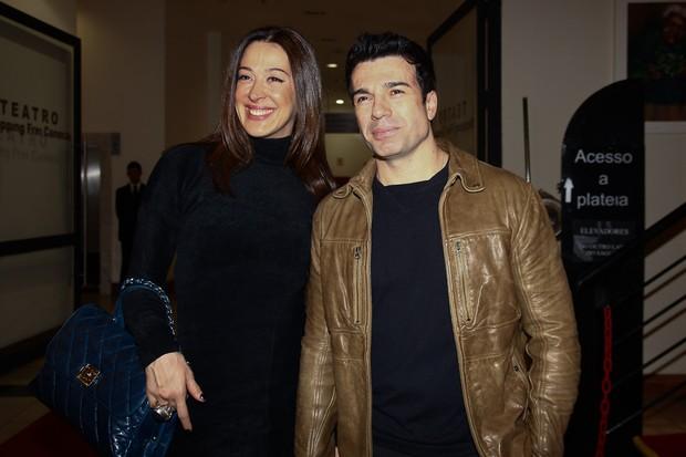 Claudia Raia e Jarbas Homem de Mello na estreia do espetáculo 'Fame' (Foto: Manuela Scarpa / Photo Rio News)