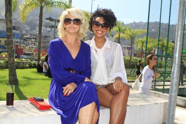 Antonia Fontenelle e Sheron Menezzes (Foto: Raphael Mesquita/Photorio News)