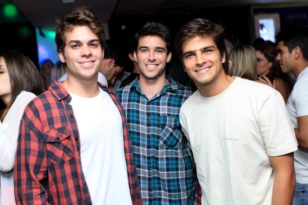 LucasCordeiro, BernardoVelasco e BernardoMesquita (Foto: Raphael Mesquita/Divulgação)