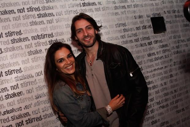 Mara Carvalho com o namorado Carlos Martin no aniversário do filho em São Paulo (Foto: Marcos Ribas/ Photo Rio News)