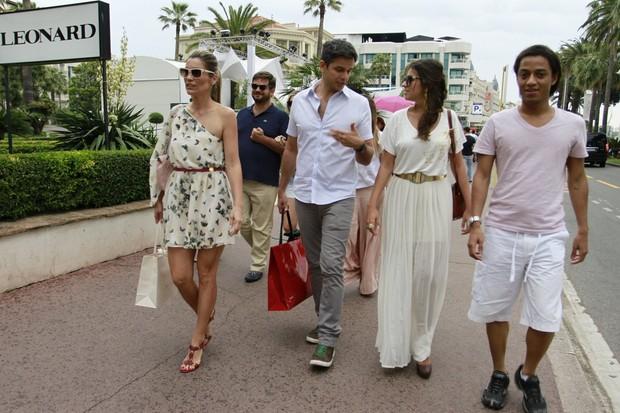 Flavia Alessandra e Otaviano Costa em Cannes (Foto: Felipe Panfili/AgNews)