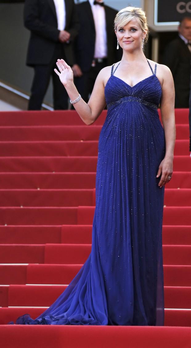 Reese Witherspoon no Festival de Cannes (Foto: Agência/ Reuters)