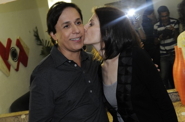 Tom Cavalcante e Malga di Paula (Foto: Kadu Ferreira/Photo Rio News)
