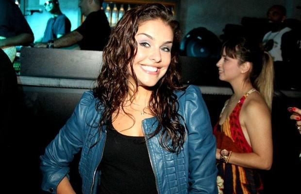 Paloma Bernardo e, show do namorado, Thiago Martins (Foto: Cláudio Soares/Divulgação)
