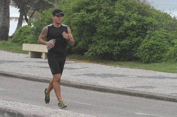 Juliano Casarré se exercita (Foto: Ag News)