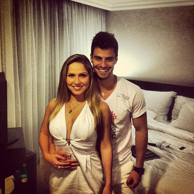 Renata e Lucas Malvacini (Foto: Reprodução/ Instagram)