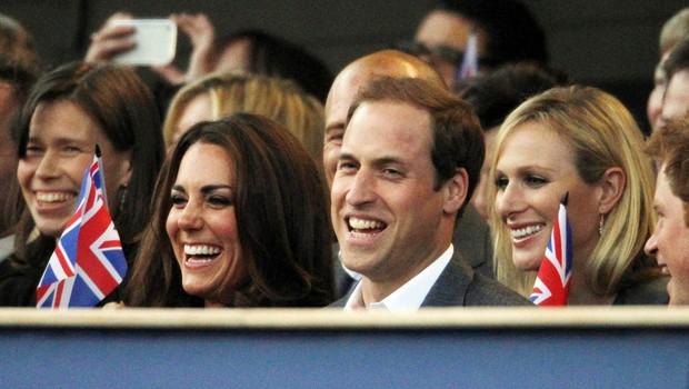 Kate Middleton e o príncipe William (Foto: Reuters)