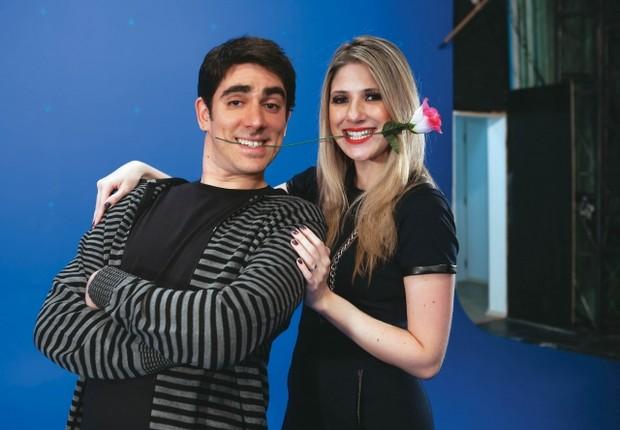 Marcelo Adnet e Dani Calabresa (Foto: Tomás Arthuzzi/Revista Contigo!)