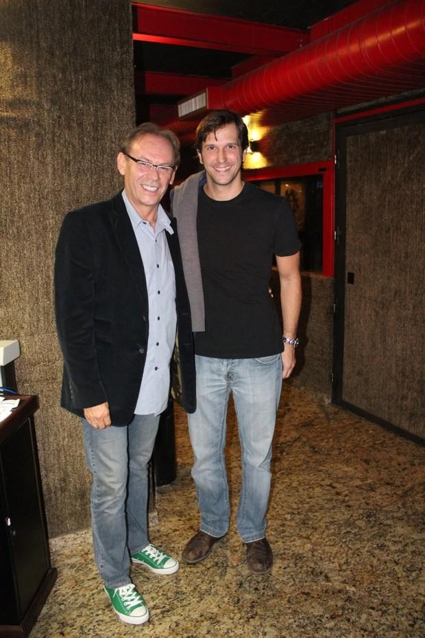 José Wilker e Vladimir Brichta (Foto: Fausto Candelária / Ag. News)