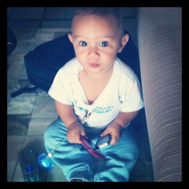 Filho Solange Couto (Foto: Reprodução/Twitter)