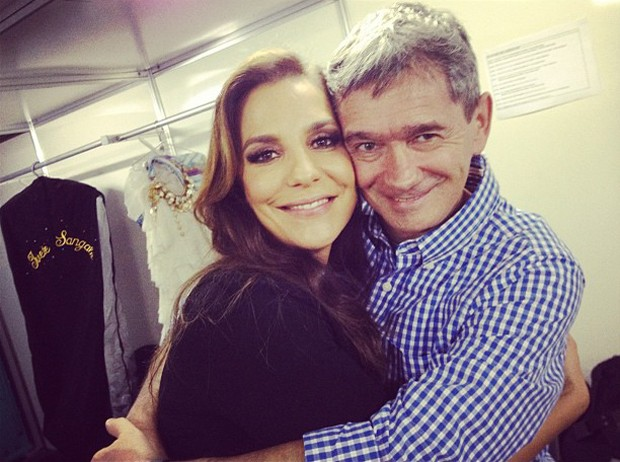 Serginho Groisman posta foto com Ivete Sangalo (Foto: Instagram / Reprodução)