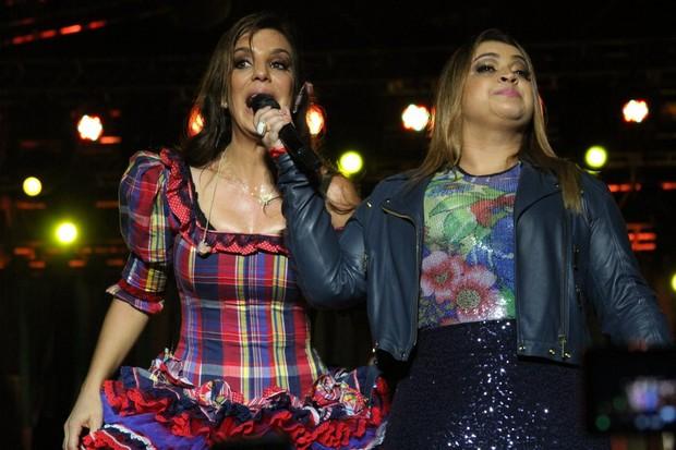 """Ivete Sangalo canta com Preta Gil no """"São João Carioca"""" na quinta da boa vista (Foto: Henrique Oliveira / PhotoRioNews)"""