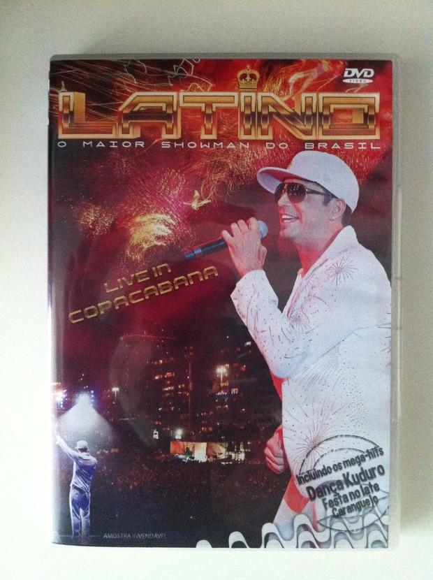 Capa do novo CD de Latino (Foto: Divulgação)