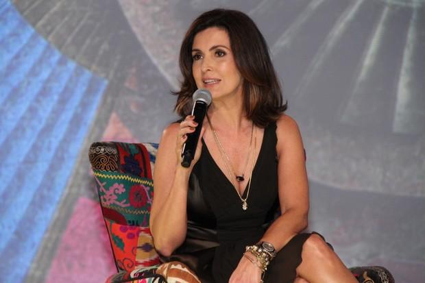 Fatima Bernardes coletiva (Foto: Roberto Filho/AgNews)