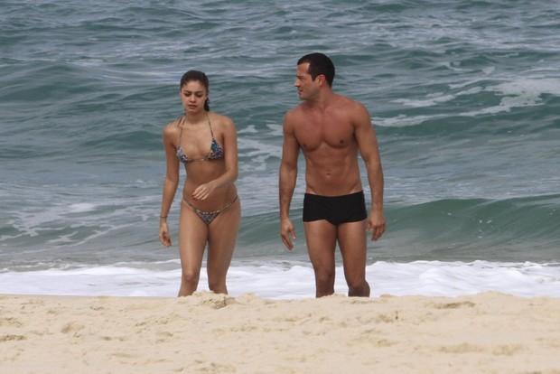 Malvino Salvador e Sophie Charlotte  (Foto: Jeferson Ribeiro/AgNews)