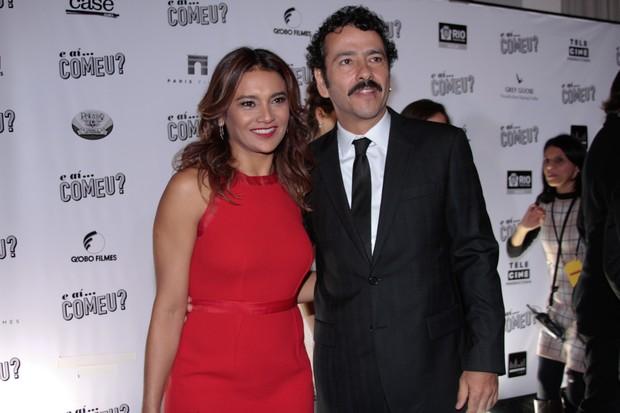 Dira Paes e Marcos Palmeira em pré-estreia de filme em São Paulo (Foto: Foto Rio News)