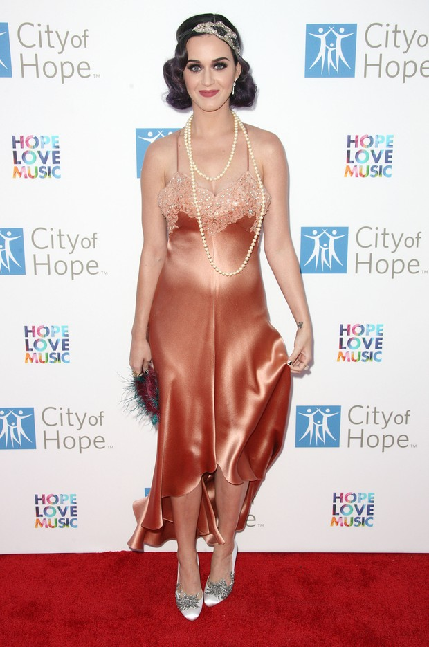 Katy Perry em evento em Los Angeles, nos Estados Unidos (Foto: Getty Images/ Ag&#234;ncia)