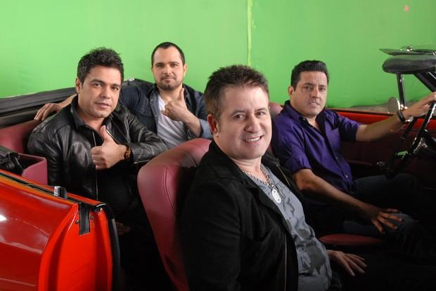 Os cantores Bruno, Marrone, Zezé di Camargo e Luciano (Foto: Divulgação)