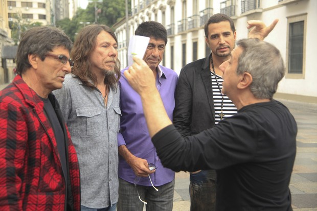 Evandro Mesquita, Lenine, Fágner e Latino (Foto: Divulgação)