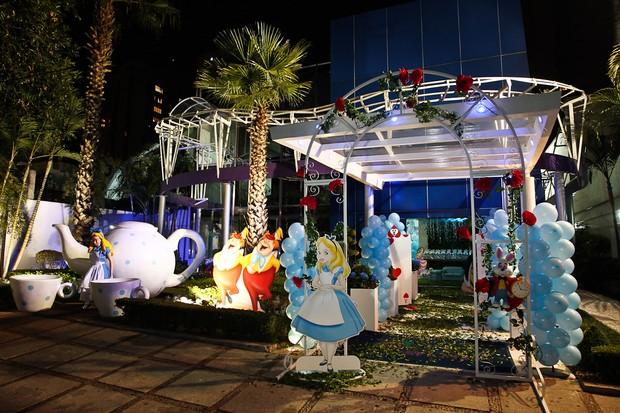 Detalhe da decoração do buffet (Foto: Manuela Scarpa/Photorio News)