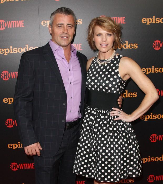 Matt LeBlanc e Kathreen Rose em première da segunda temporada da série 'Episodes' em Los Angeles, nos EUA (Foto: AFP/ Agência)