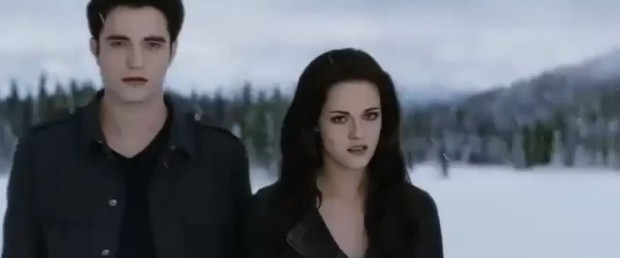 Edward e Bella (Foto: Reprodu&#231;&#227;o / Youtube)