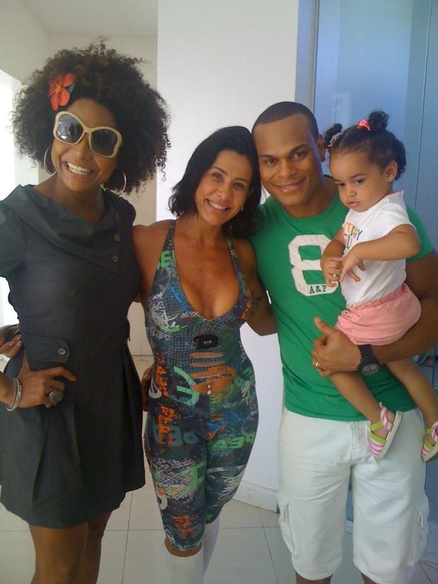 Adriana Bombom e Scheila Carvalho (Foto: Divulgação)
