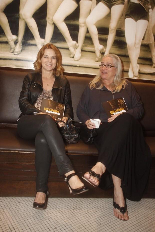Vera Zimmermann e Vera Holtz (Foto: Philippe Lima/ Ag.news)