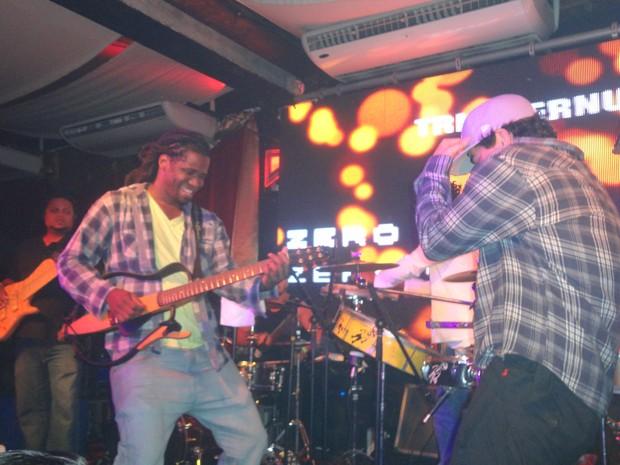 Jhama e Thiago Martins  (Foto: Pamella Cortez / Divulgação)