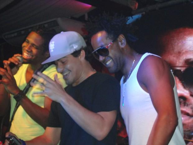 Jhama, Thiago MArtins e Dhum Neves (Foto: Pamella Cortez / Divulgação)