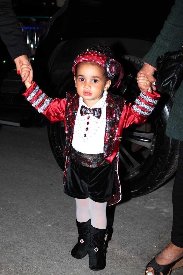 Giulia, filha de Scheila Carvalho, em sua festa de 2 anos (Foto: Orlando Oliveira / AgNews)