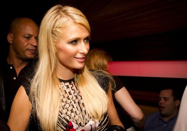Paris Hilton em SP (Foto: Francisco Morais/Divulgação)