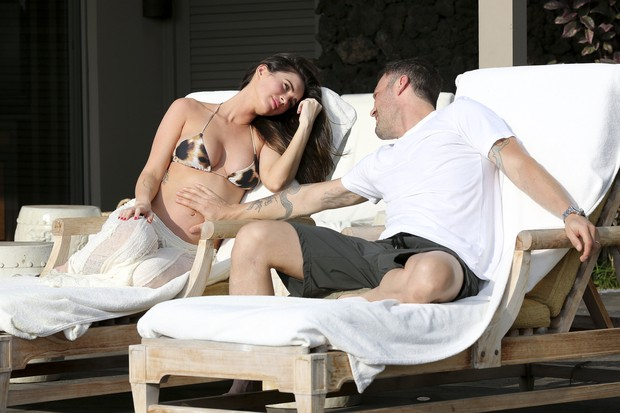 Megan Fox e Brian Austin Green (Foto: Grosby Group/Agência)